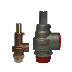 Broady 180 & Broady 180S Relief Valves